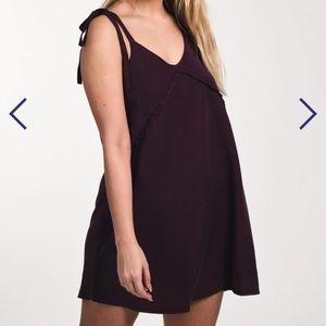 Harlow Purple Slip Dress